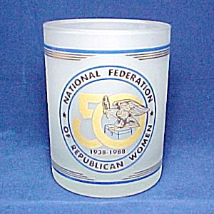 1988 National Federation Of Republican Women Tumbler
