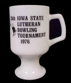 1976 Iowa State Lutheran Bowling Tournament Coffee Mug