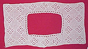 Antique White Crochet Camisole YOKE Victorian Crocheted (Image1)