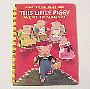 This Little Piggy Went to Market 1953 Baby Wonder Book (Image1)