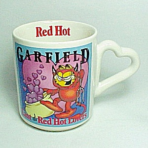 Garfield Last Of The Red Hot Lovers Coffee Mug Cup Valentines Day 1978