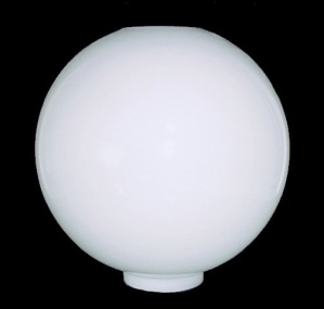 Milk Glass Ball Lamp Shade Gone With The Wind 4 X 12 Electric Oil Gwtw