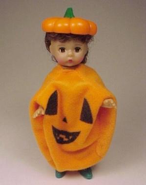 Halloween Madame Alexander Doll Pumpkin Jack-o-lantern (Image1)