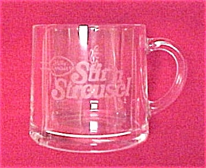 Betty Crocker Stir 'n Streusel Advertising Glass Cup