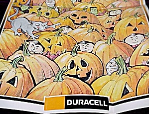 Duracell 1993 Battery Glow In The Dark Halloween Poster