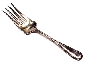 1898 Wm Rogers Seville Cold Meat Fork Silverplate (Image1)