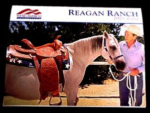 Hanging 2017 President Ronald Reagan Ranch Calendar