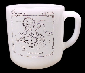 1975 Hallmark Charmers Coffee Mug Cup Federal Glass (Image1)