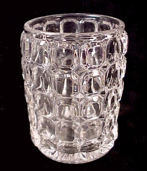 Eapg Pattern Glass Spooner Heisey Victorian Antique Old