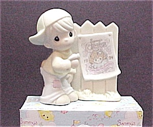 Precious Moments SAMMY's CIRCUS Enesco SAMMY Figurine (Image1)