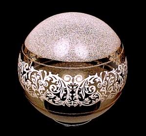 Ornate Gold 3.25 X 6 Ball Ceiling Fan Light Shade Globe (Image1)