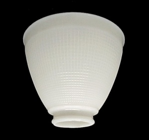 IES White Glass 6 in Reflector Floor Table Lamp Shade (Image1)