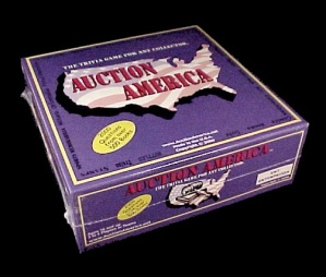 Auction America 2000 Trivia Game For Antique Collectibles Collectors