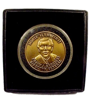 Moose International Director General's Award Coin NIB (Image1)