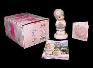 Enesco Precious Moments Loving Is Caring Doctor Figurine Nib