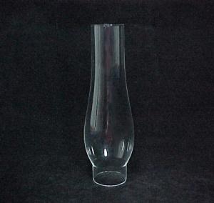 New Clear Glass 1 9/16 X 7 in Kerosene Oil Lamp Chimney (Image1)