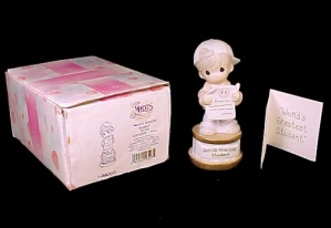 Enesco Precious Moments World's Greatest Student Figure