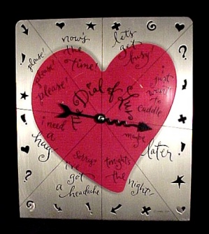 Hallmark Dial Of Luv Love Valentine Heart Arrow Spinner