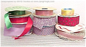 Lot of Sewing Craft Floral Scrapbooking RIBBON 78 Yards (Image1)