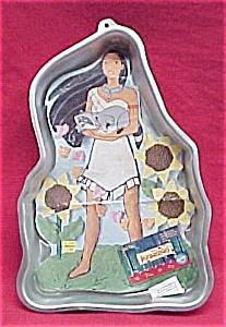 1995 Wilton Cake Pan Pocahontas  Mold W/Facemaker (Image1)