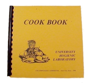 Cookbook University Of Iowa Hygienic Lab Cook Book