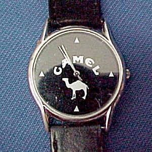 Camel Cigarette Wrist Watch 1990s Vintage Advertising (Image1)