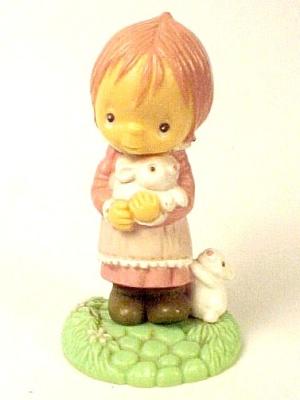 1982 Hallmark Betsey Clark Merry Miniature Bunny Easter Mini (Image1)