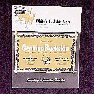 White's Buckskin Store Catalog Des Moines Iowa 1958-59 (Image1)