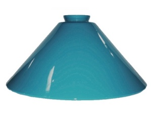 Turquoise Vianne Glass 2 1/4 X 12 Pendant Light Lamp Shade (Image1)