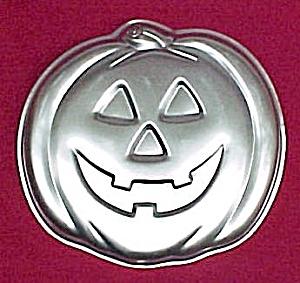 1981 Wilton Cake Pan Halloween Pumpkin JACK-O-LANTERN (Image1)