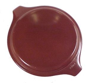 Pyrex Glass 1.5 Pt Brown Casserole Dish 20-C Lid Vintage (Image1)