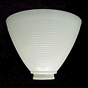 8 in Reflector Floor Table Lamp Shade IES Milk White Glass (Image1)