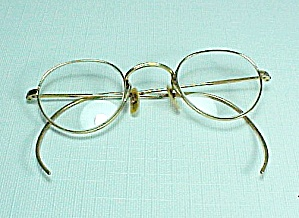 ArtCraft Eyeglasses Eye Glasses 1/10 12 KGF Wire Rim Vintage Antique (Image1)