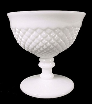 Westmoreland Elegant Milk Glass English Hobnail Sherbet (Image1)