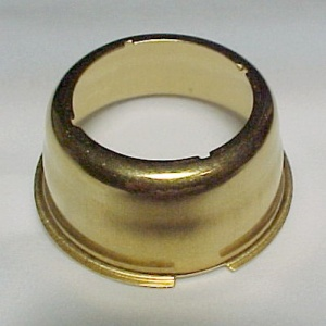 Brass Aladdin Kone Kap Mantle Adaptor R150 Lox-On Lamp Models 3 - 11  (Image1)