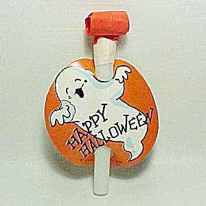 Halloween Ghost Whistle Horn Paper Party Favor Toy
