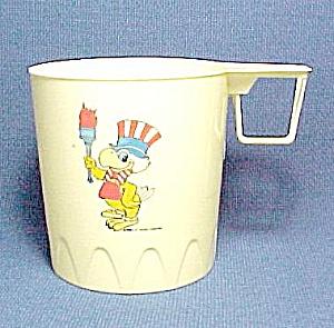 1984 Plastic Olympic Mug Cup 23rd Olympiad Vintage (Image1)