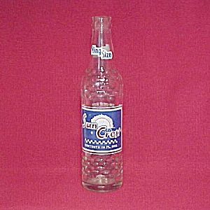 Sun Crest Soda Pop 10oz Glass Bottle Atlanta Ga Vintage