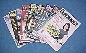 Lot of 9 Workbasket Magazines Knit Crochet 1985 - 1988 (Image1)