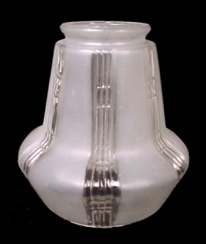 Light Shade Mission Style Clear Frosted Art Deco for Lamp Fixtures (Image1)