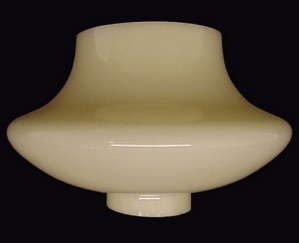Ivory Glass Light Shade Chandelier Wall Sconce Lamp  (Image1)