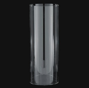 Cylinder 3 X 8 Tube As Is Glass Light Shade Candle Holder Wall Sconce