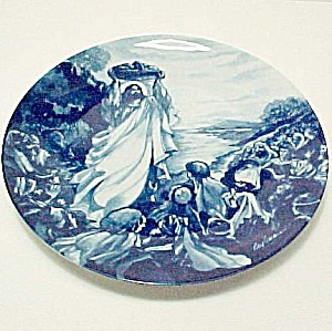 1993 Avon Jesus Feeds the Multitude Collectors Plate (Image1)