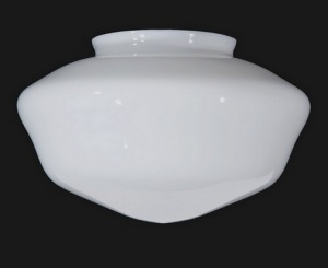 Schoolhouse Large 12 Light Globe White Milk Glass Shade (Image1)
