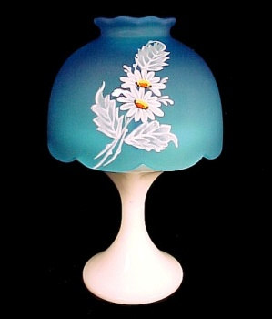 Westmoreland Glass Daisy Fairy Lamp Candle Light Holder