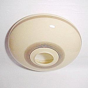 Glass Chandelier Flush Mount Ceiling Fan Light 12.5 in Shade (Image1)