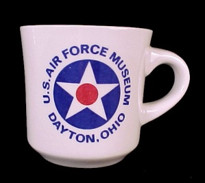 US Air Force Museum Dayton OH Souvenir Coffee Mug Cup (Image1)