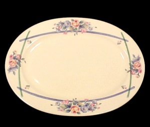 Pfaltzgraff Gatehouse Dinnerware Oval 14 1/2 In Platter