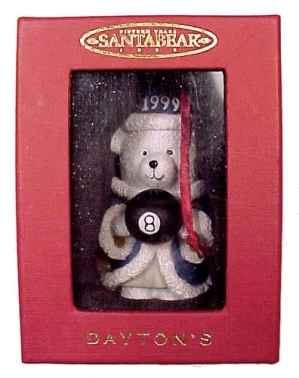 Dept 56 SantaBear Christmas Ornament Wizard Merlin 1999 (Image1)