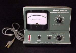 Thomas Linear Electric Conductance/Resistance Meter VTG (Image1)